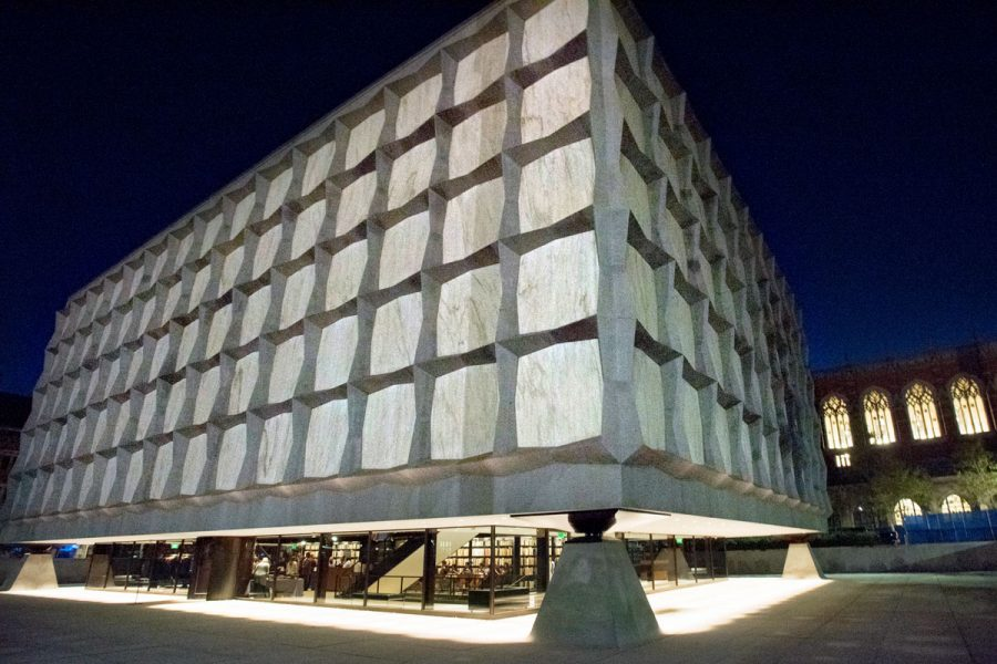 Photo by Mara Lavitt October 14, 2016 Celebratory event in honor of the reopening of the Beinecke Rare Book and Manuscript Library, Yale University, New Haven, CT, held at the library.