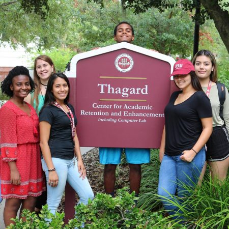 FSU CARE students excited for the summer semester. (Photo by Candida Pouchie)