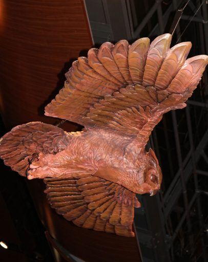 FSU Master Craftsman Chris Horne calls the custom Ruby Diamond owl one of his favorite projects.