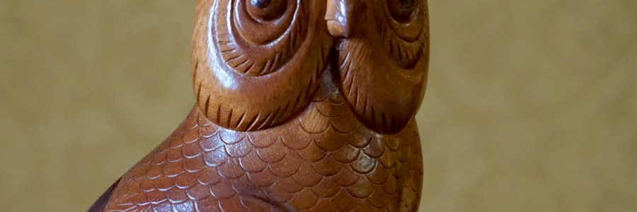 As you walk into Florida State's historic Westcott Building, you're greeted by two, intricately hand-carved owls on the stairway leading to Ruby Diamond Concert Hall. The owls were added to the entrance of the building during the renovation of the Westcott Building between 2008 and 2010 with guidance from then-President T.K. Wetherell.