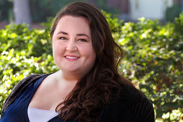 Florida State University graduate student Ashley Cooper