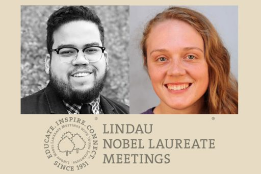 Chemistry graduate student Gabriel Dos Passos and FAMU-FSU College of Engineering graduate student Margaret Scheiner will represent FSU at the 67th Lindau Nobel Laureate Meeting, an annual meeting that includes 30 Nobel laureates.