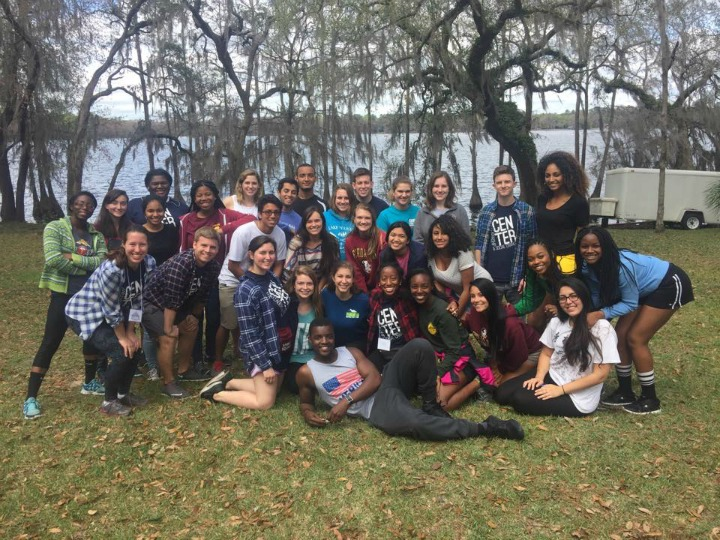 Students attending Leadership LOGIC at the FSU Rez.