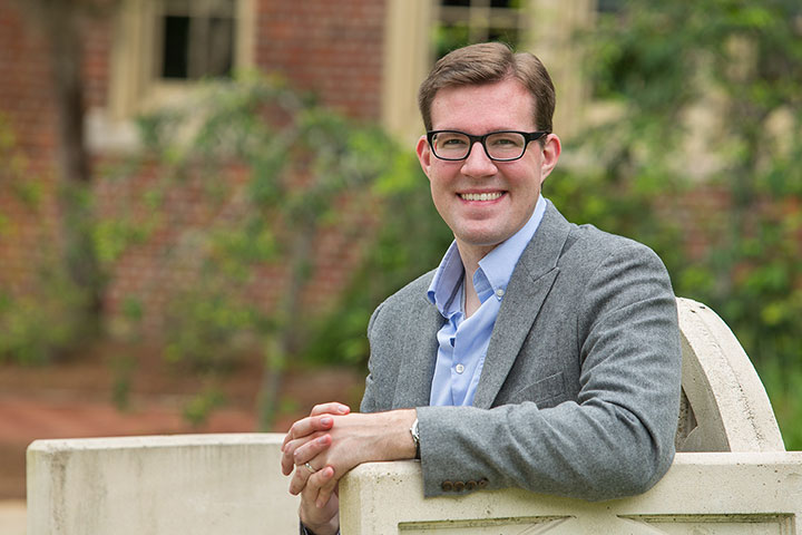 Peter Lehmann, a doctoral candidate in FSU's College of Criminology and Criminal Justice. (FSU Photography Services)
