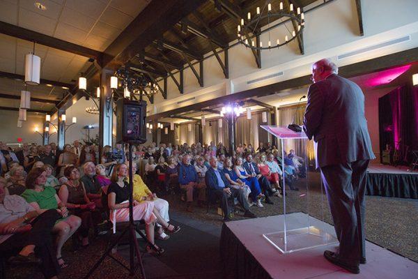 FSU President John Thrasher provides opening remarks. Physics Physics