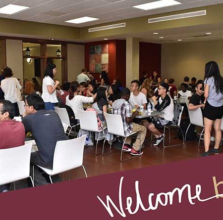 The Center For Global Engagement welcomed back international students.