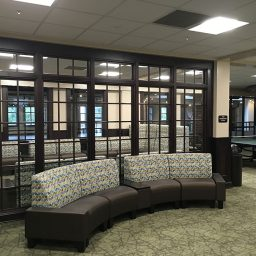 Lounge area in new residence halls (Photo: FSU Housing)