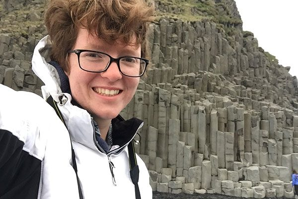 Nat Jones on a visit to Iceland this summer.