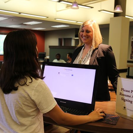 The Career Center is launching a new program designed to help undergraduate students gain the knowledge and skills needed to begin their graduate school career.
