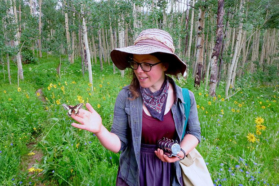 Jane Ogilvie, FSU postdoctoral researcher and the study's lead investigator.