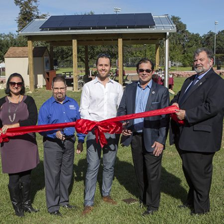 Sustainability Hub ribbon-cutting ceremony