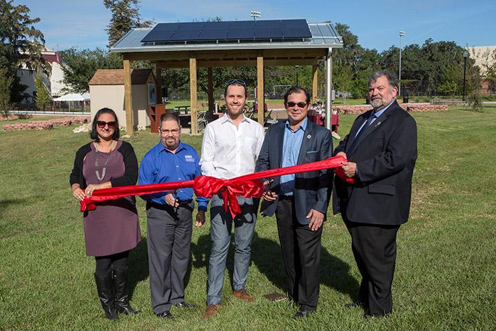 Sustainability Hub ribbon-cutting ceremony