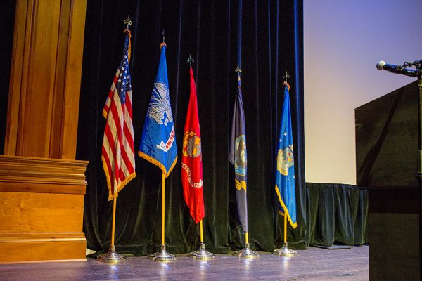 The FSU Veterans Film Festival Oct. 5, 2017, at Ruby Diamond Concert Hall. (FSU Photography Services)