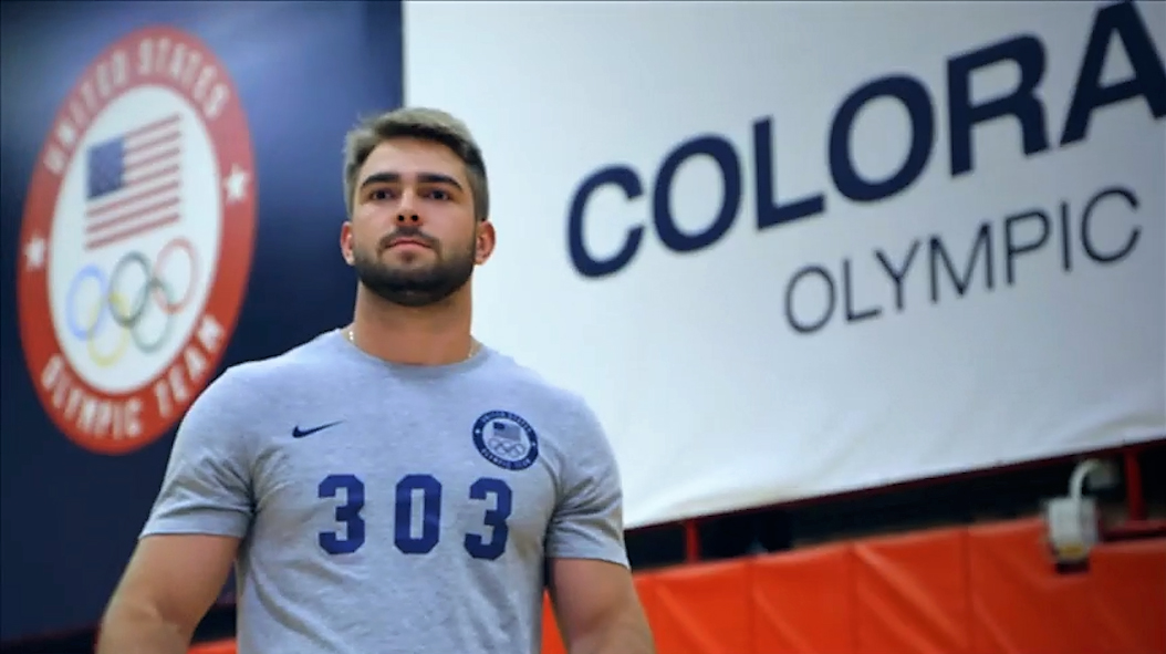 FSU student Josh Williamson is competing for a spot on the USA Olympic Bobsled Team that's heading to Pyeongchang, South Korea for the 2018 Winter Olympics next February. (Photo: United States Olympic Committee)