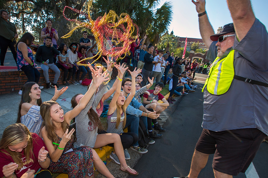 Florida State University 2017 Homecoming Parade (FSU Photography Services)