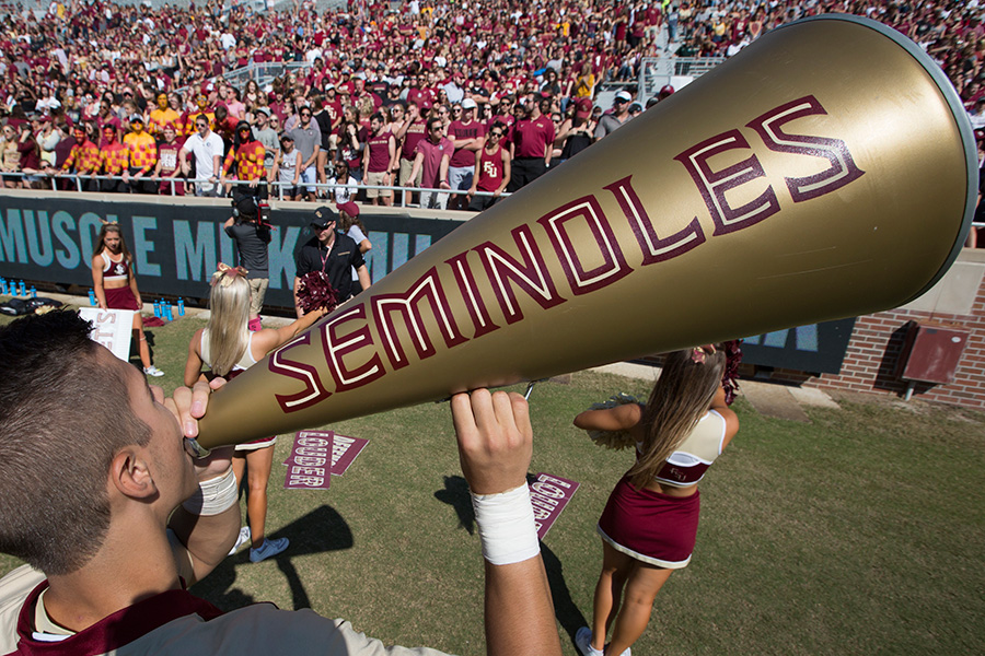 Coming to the game? Plan your route before cheering on the Seminoles! (Photo: UC Photography Services)