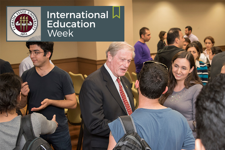 Florida State University will celebrate International Education Week along with the rest of the nation Nov. 13-17. (Photo: Center for Global Engagement)