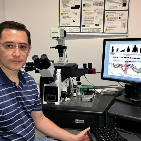 "FSU postdoctoral researcher Juan Carlos Rivera-Mulia used an advanced approach to disease marker discovery developed at Florida State to conduct breakthrough research on premature aging diseases called ""progeroid syndromes."""