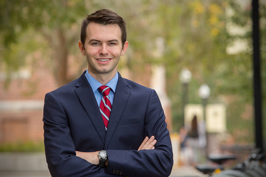 Gil Damon is Florida State's seventh finalist for a Rhodes Scholarship in the past 11 years.