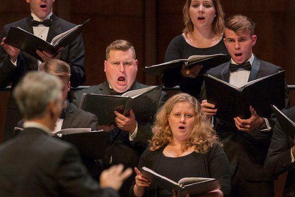 FSU's University Chamber Choir performs.