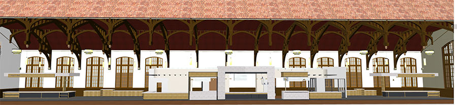 The renovation will overhaul the entire facility and create a culinary experience, which will allow students to watch chefs prepare their meals in front of them using Fresh from Florida ingredients. (Photo: FSU Dining Services)