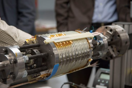 The Florida State University-headquartered National High Magnetic Field Laboratory has shattered another world record with the testing of a 32-tesla magnet — 33 percent stronger than the world's strongest superconducting magnet used for research and more than 3,000 times stronger than a small refrigerator magnet. (National MagLab)