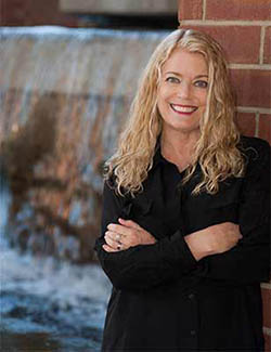 Professor of Theatre Terri Bourus.