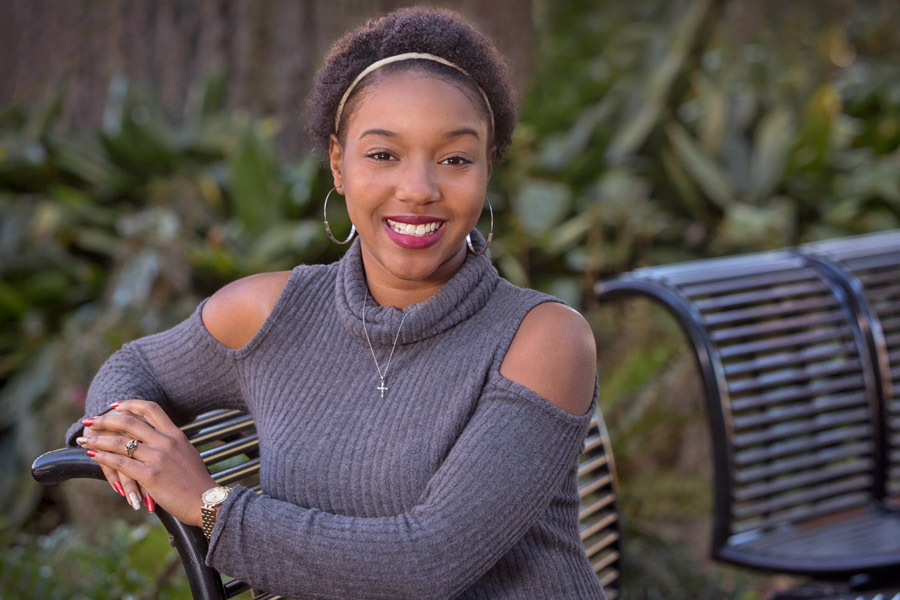Denisha Campbell is a graduate student in FSU's School of Communication Science and Disorders.