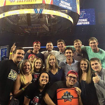 Students from FSU's No. 1-ranked sport management program at the NCAA Final Four in Houston.