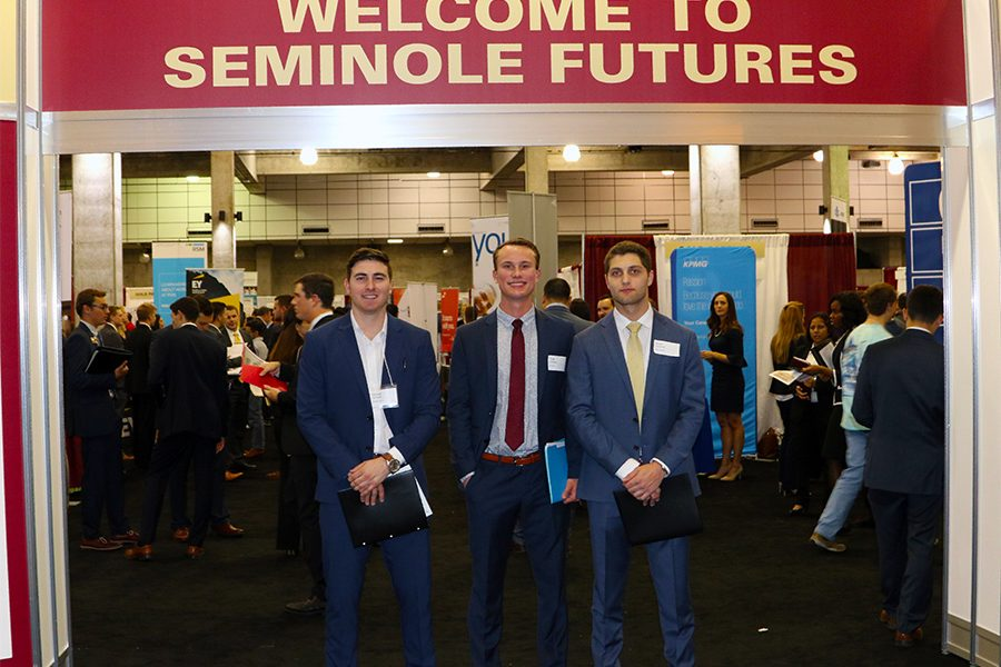 Seminole Futures is an extremely valuable resource for students of all majors to network and take the next steps in starting their careers. (Photo: University Communications)