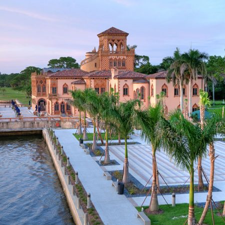 The Ca'-d'Zan mansion is the centerpiece of The Ringling, the State Art Museum of Florida — one of the preeminent art and cultural collections in the United States.