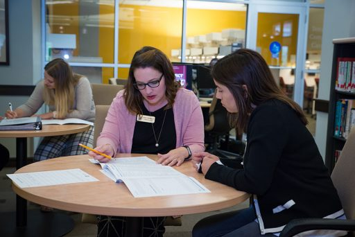 The Career Center is the No. 1 way students found employment after graduation. Advisors are available daily to help students plan their future. (Photo: FSU Career Center)