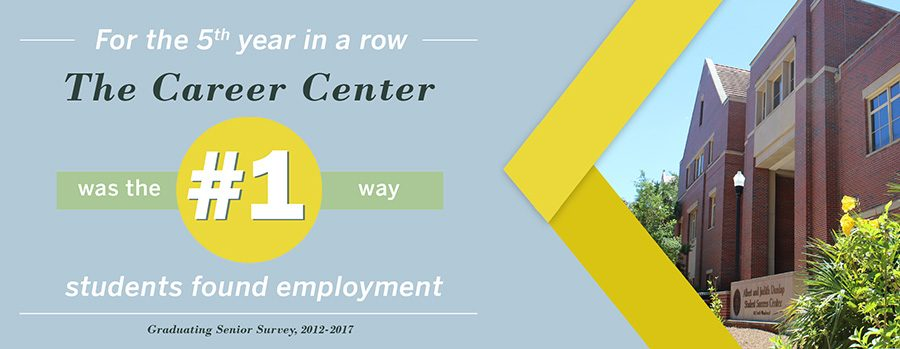 Career Center staff assisted more than 19,583 students with career advising, and more than 89 percent of students who received career advising during the 2016-2017 academic year said they felt more confident about their future career plans. (Photo: FSU Career Center)