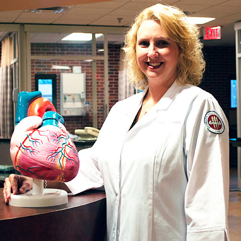 Graven has dedicated her research efforts to helping heart failure patients and their caregivers.