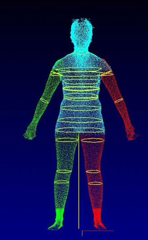 Ridgway found that after viewing and interacting with their 3-D body scans, participants reported decreased mood and body satisfaction.