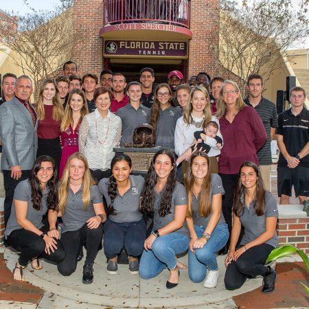 Florida State University unveiled a new memorial in honor of U.S. Navy war hero Scott Speicher, a 1980 FSU alumnus.