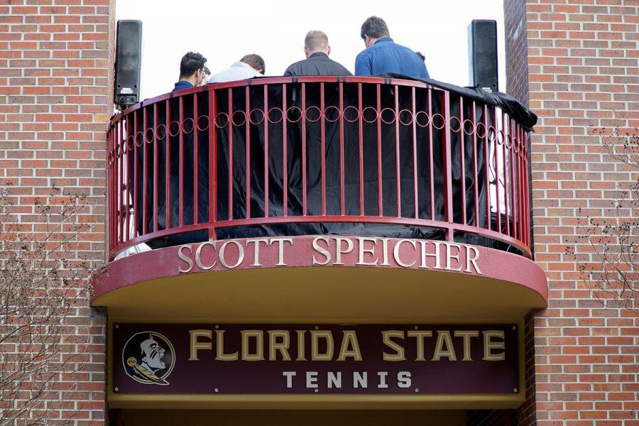 Scott Speicher Memorial unveiling, Feb. 16, 2018.