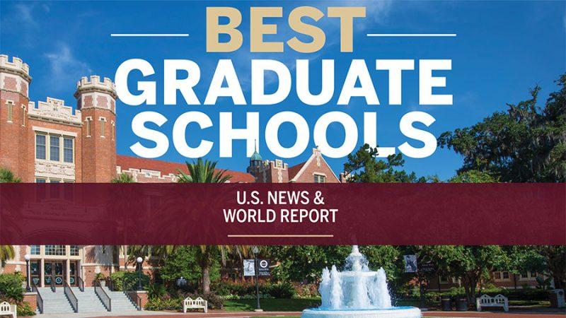 Florida State sees across-the-board upward climb in U.S. News graduate school rankings