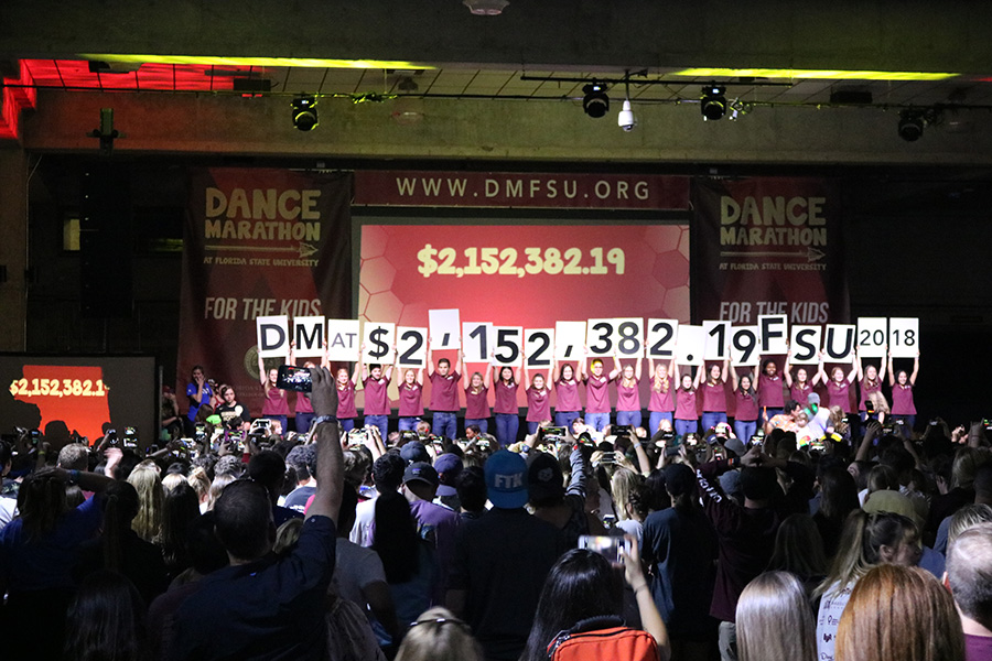 Dance Marathon at FSU is the fourth-highest fundraising Miracle Network Dance Marathon program in the nation. This year they raised more than $2M 'For The Kids'. (Photo: University Communications)