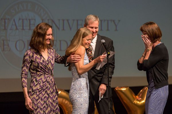 Members of the Florida State University College of Medicine Class of 2018 met their