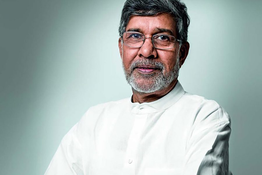 During the PeaceJam public talk and conference, Satyarthi will give formal talks, participate in informal conversations, watch participants' presentations of service learning initiatives and join attendees for lunch and service in the Tallahassee community. (Photo: PeaceJam Southeast)