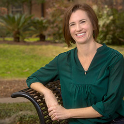 Erin Ingvalson, assistant professor in FSU's School of Communication Science and Disorders