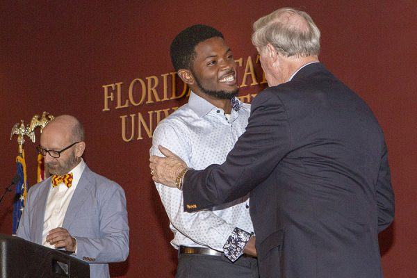 Garnet & Gold Scholar Society induction ceremony April 26, 2018. (FSU Photography)