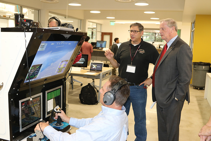 The competition was fierce during the annual DIGITECH event April 11. (Photo: University Communications)
