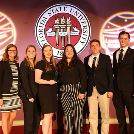 Florida State University students, employees and organizations gathered April 10 for the university's annual Leadership Awards Night. (Photo: Division of Student Affairs)