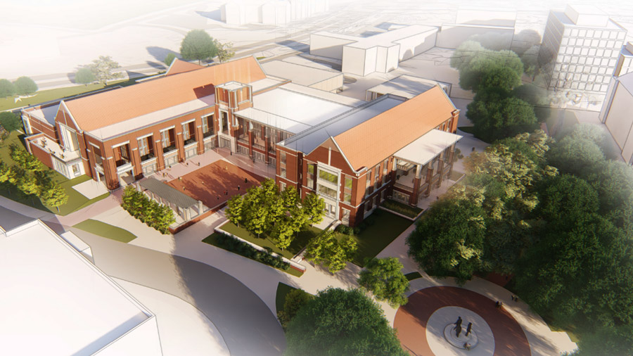 "Ducatt said the new Oglesby Union will focus more on outdoor space. ""This is Florida and we do a lot of our programming outside, so the west side of the building is expected to have an area for Market Wednesday, food trucks, a stage and other exciting things. On the east side, we'll still have Moore Auditorium, and it will be more of a softscape with green space."""