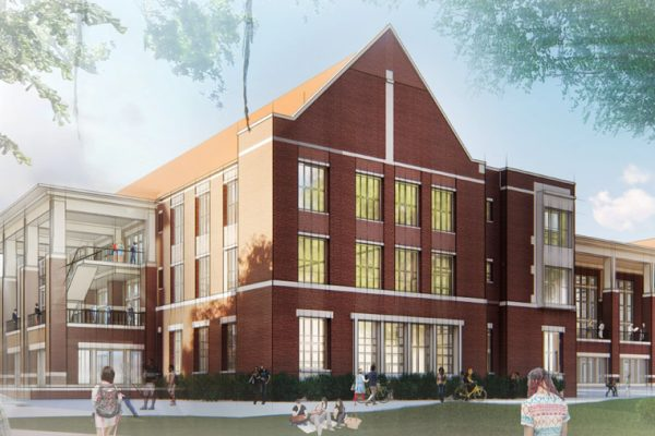 """Matt Ducatt, director of Oglesby Union, said excitement is ramping up for the new union, """"What we will get in the new building is a more contiguous facility with a Student Life Center, student government offices, fraternity and sorority life, and all the student-life areas will be together in a modern, comfortable space also more accessible to all students."""""""