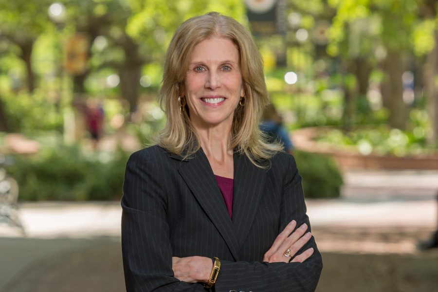 """Professor Pam Perrewé is the 2018-2019 Robert O. Lawton Distinguished Professor. """"Because of my love for Florida State, this is like the Nobel Prize to me."""""""