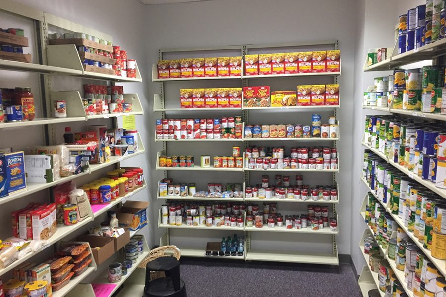 The Food for Thought Food Pantry has been combating food insecurity on FSU's campus since 2009. (Photo: Dean of Students Department)