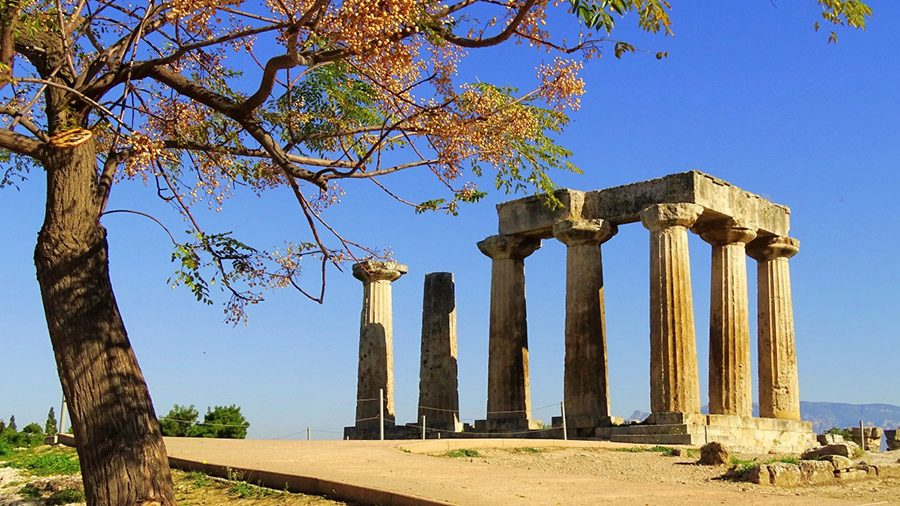 Temple of Apollo at Ancient Corinth